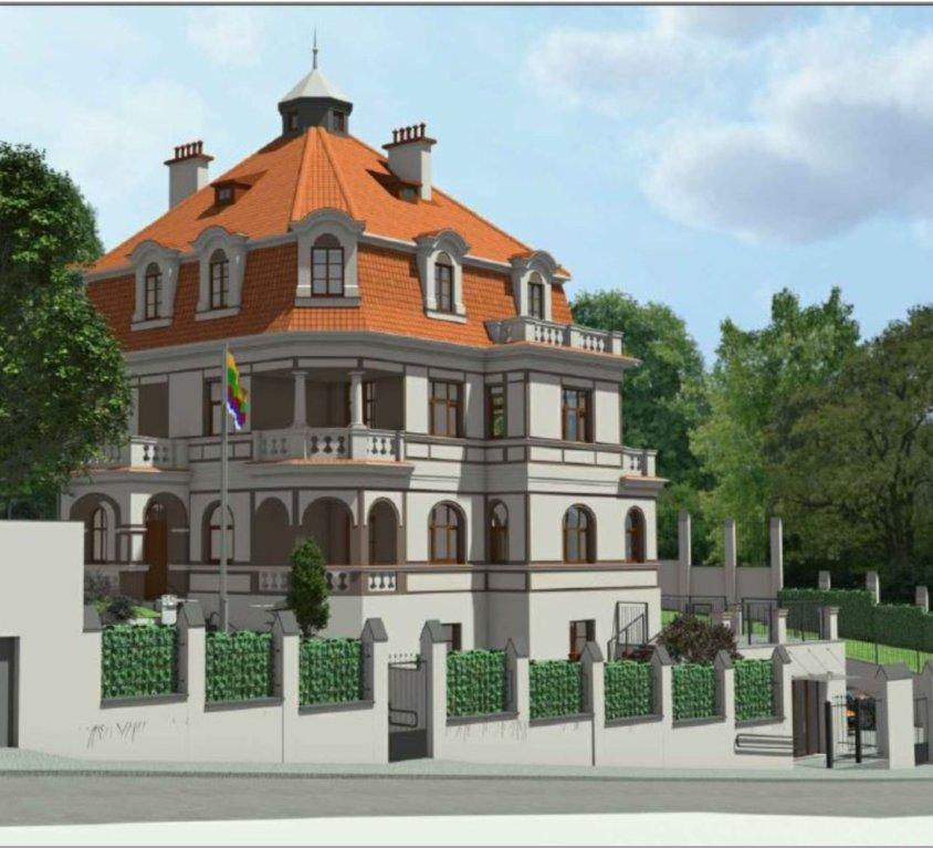 Lietuvos Respublikos ambasados Prahoje gerbuvio projektas