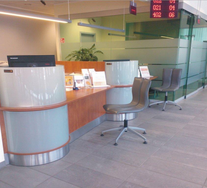 Banko interjero projektas Varėnoje