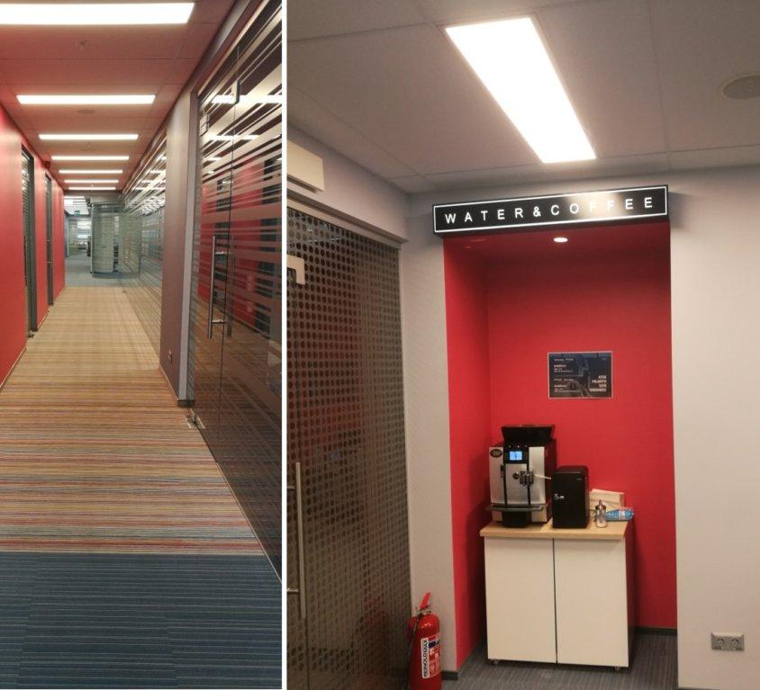 Verslo centras LINK 2 aukšto biuro įrengimo projektas