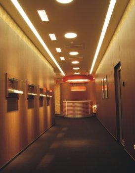 koridoriaus interjeras